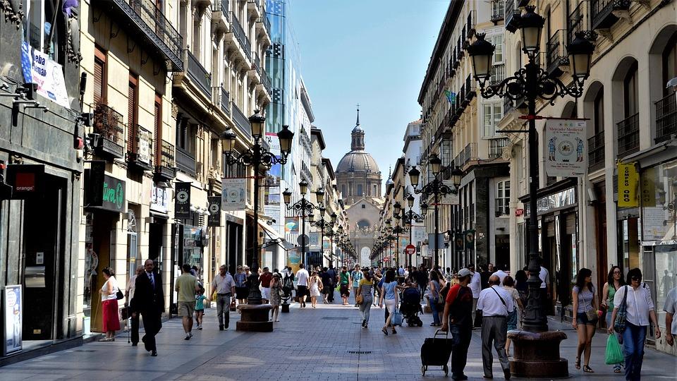 El mercado de las plazas de parking en Zaragoza