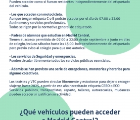 Infografia Madrid Central