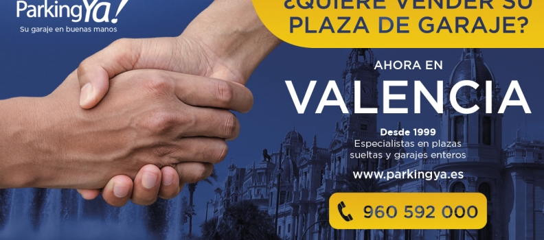 ParkingYa! llega a Valencia