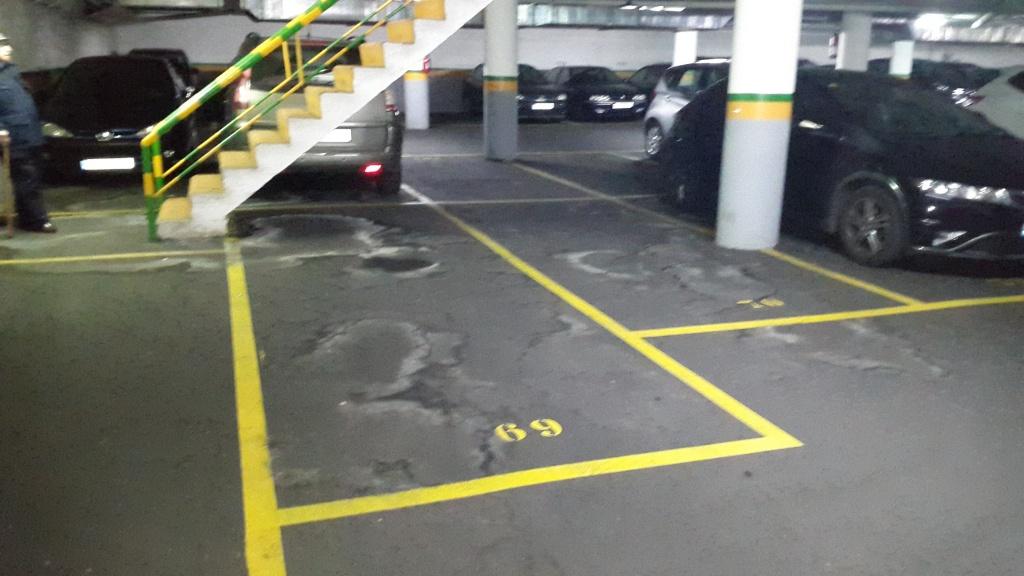 Plaza de parking en barcelona en sant marti andrade for Rentabilidad parking