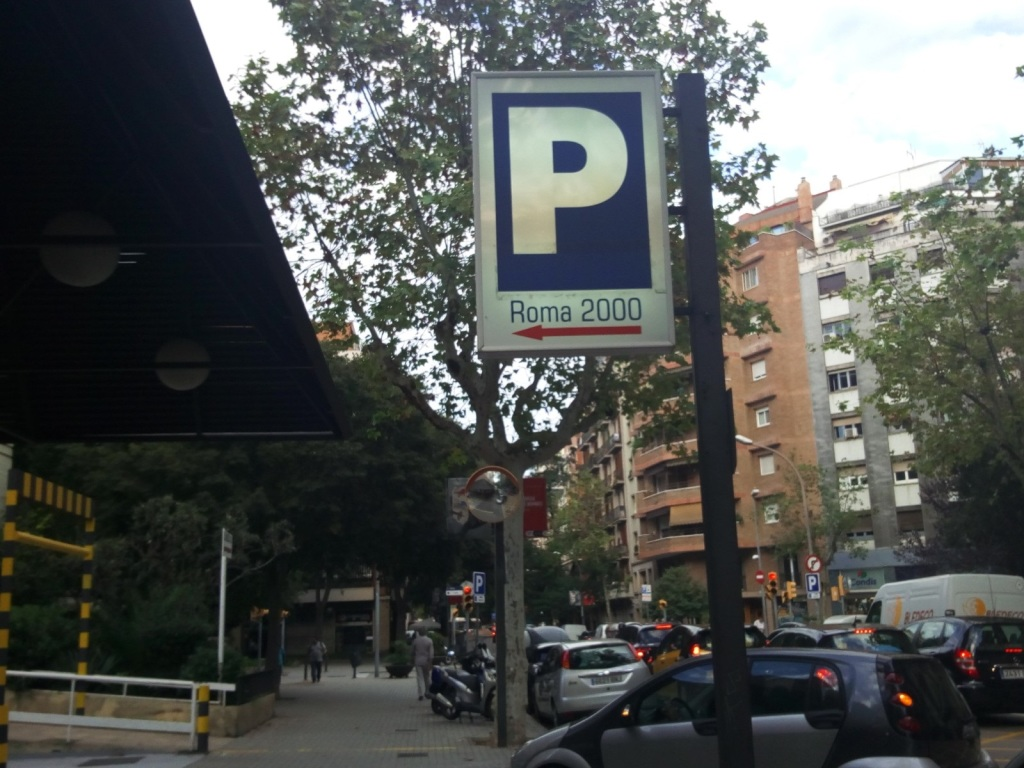 Plaza de parking en Barcelona en   valencia