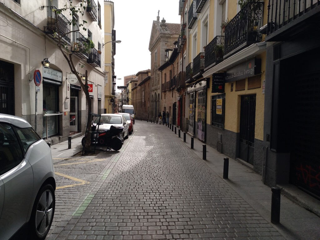 Plaza de parking en Madrid en CORTES  Calle Lope de Vega